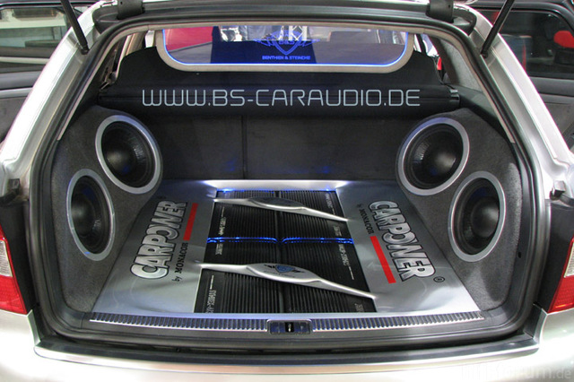 Bs Th Lautsprecher Audi A4 Subwoofer 2