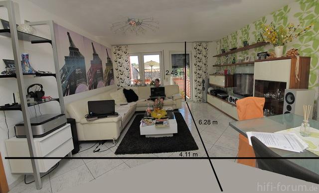 Panorama Wohnzimmer
