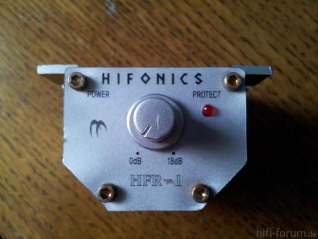 Frontansicht HFR-1