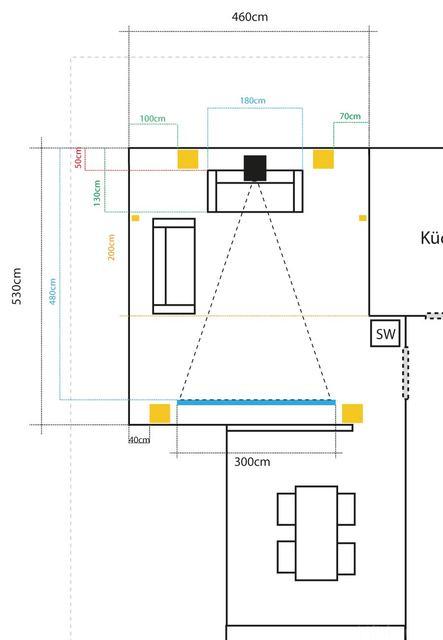 Heimkino-Plan