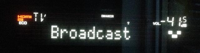 AVR RX-V581 Broadcast