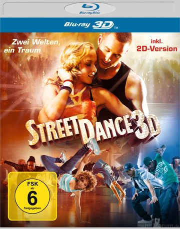 StreetDance 3D Cover BD Deluxe
