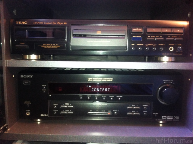 Verstärker Und CD-Player