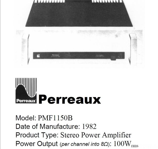 Perreaux PMF1150B