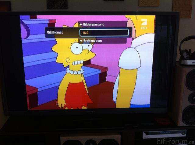 4:3 Nicht Auf 16:9 Zoombar Bei HD..