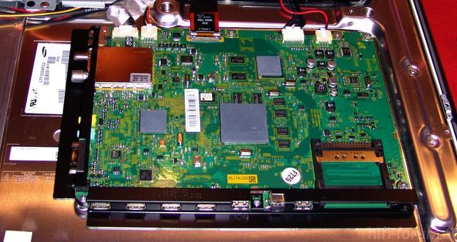 Tunerboard, W?rmeleitpads, Serienstand UE32C6700