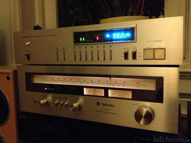 Technics ST 7600 + Pioneer TX 710