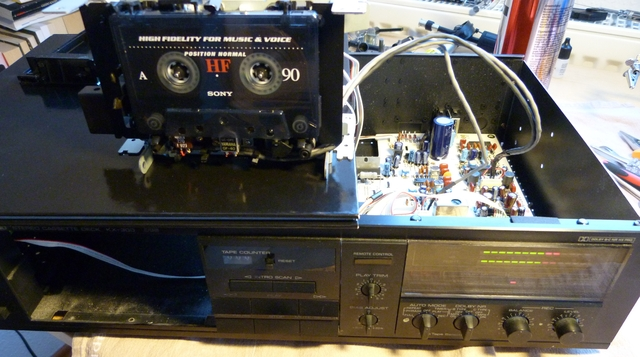 Thakker KX-300 Riemen-Set kompatibel mit Yamaha KX-300 Riemen-Set Kassettendeck Belt