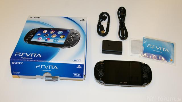 Sony PS Vita Verpackung