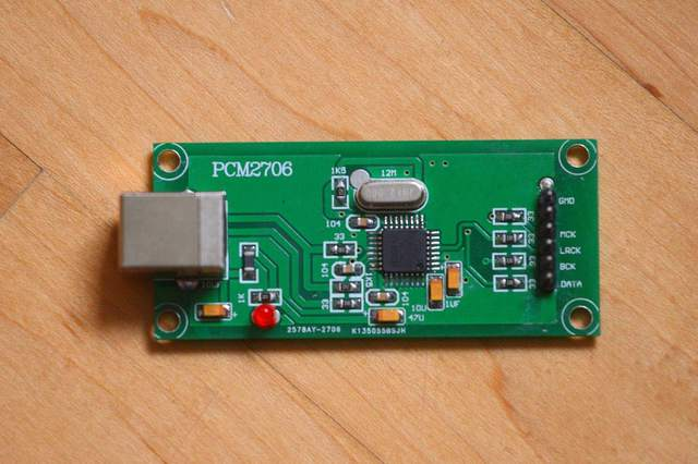 USB DAC PCM2706