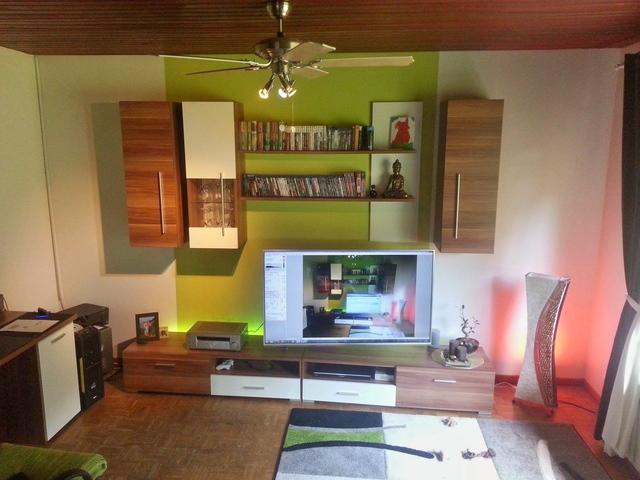 Wohnzimmer-Front Stellort für SL
