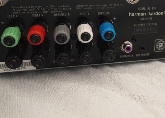 subwoofer anschlie en adapter lautsprecherkabel auf. Black Bedroom Furniture Sets. Home Design Ideas
