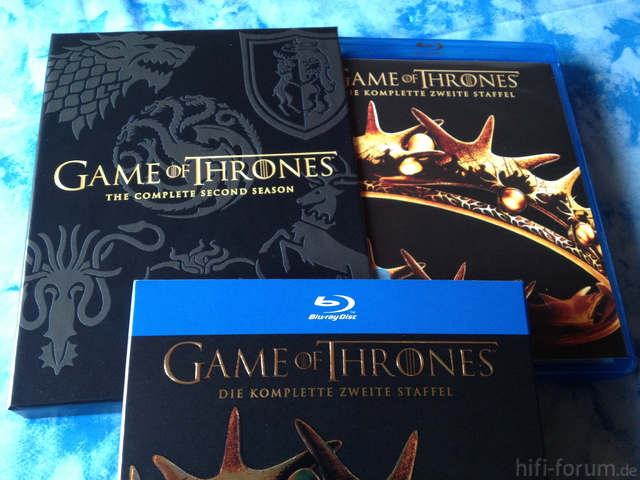 The Game Blu Ray Game of Thrones Staffel 2 Blu