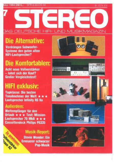 Test RS2A Stereo 1984