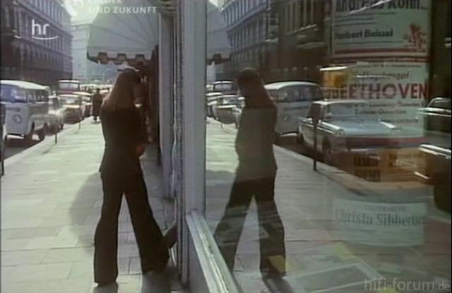 Klassik-Schallplattenladen in HH / Colonnaden 1970er