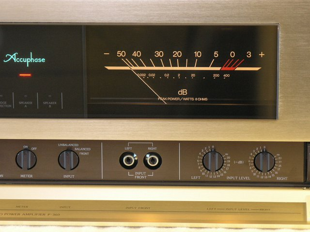 Accuphase P-360 VU