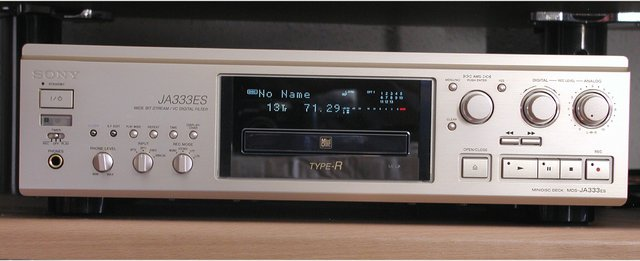 Sony MDS-JA333ES Front