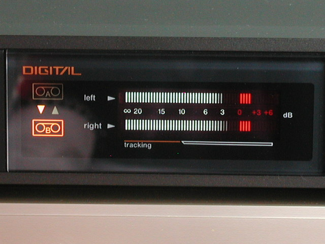 Technics SV110 Display