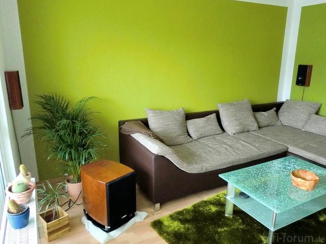 Wohnzimmer mit grun haus design ideen - Wohnzimmer mit grun ...