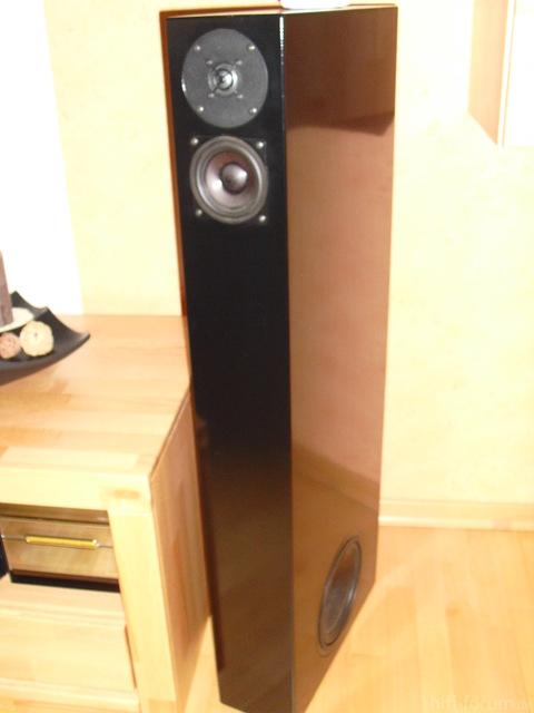 Der Lautsprecher ist eine Selbskreation und hat einen Namen