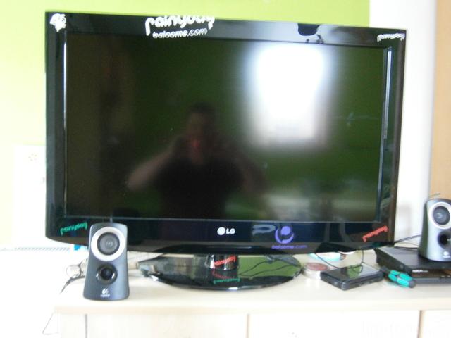 Front von Lcd- TV