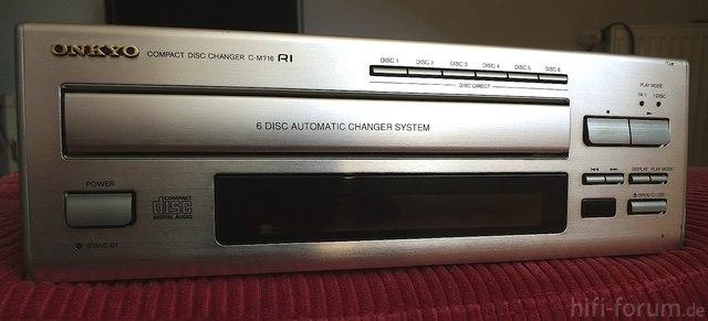 Onkyo C-M716 | 6-fach CD-Wechsler