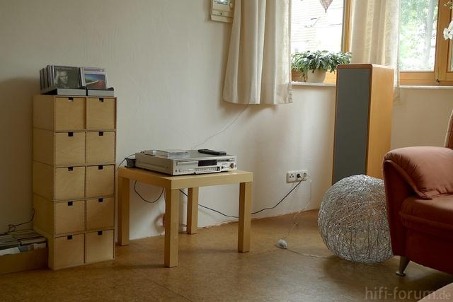 Wohnzimmer Onkyo FR435+Canton RC-L
