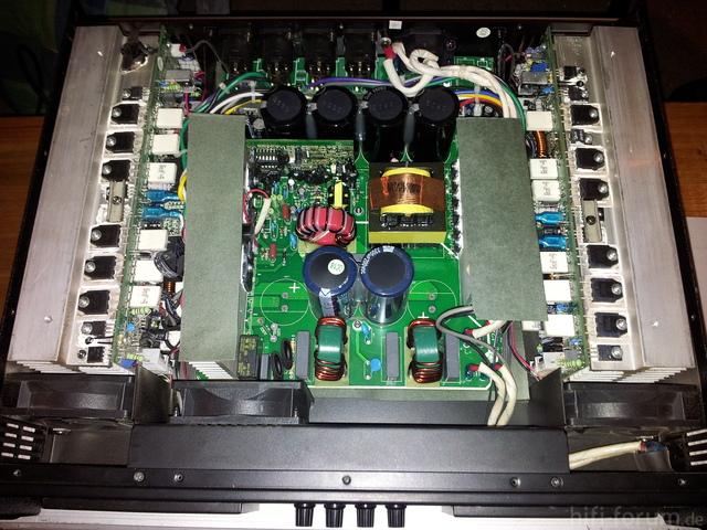 T-Amp TSA 4-1300 Test - YouTube