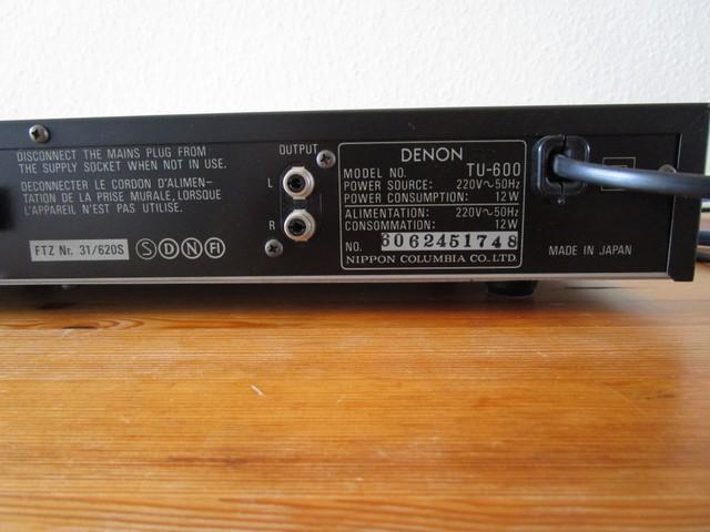 Denon TU 600