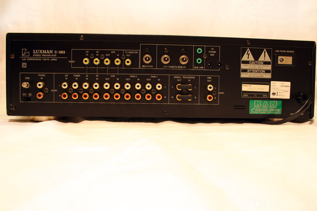 Luxman C 383