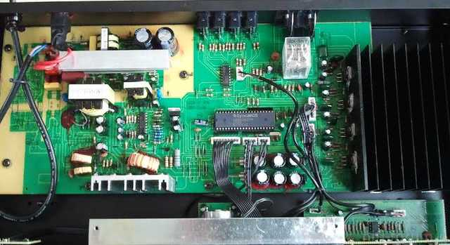 Auna AV2 CD 508 geöffnet