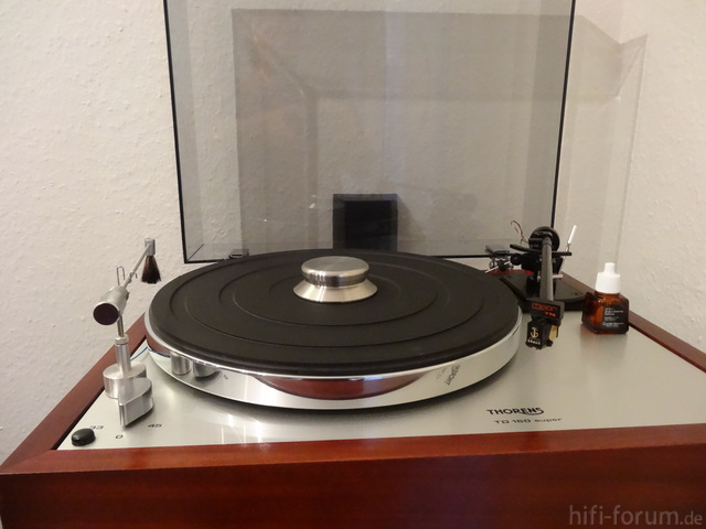 Thorens TD 160 Super, Mission 774, Grado The Reference