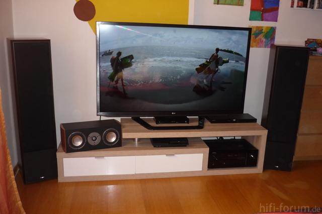 Bilder eurer wohn heimkino anlagen allgemeines hifi for Couch 4m breit