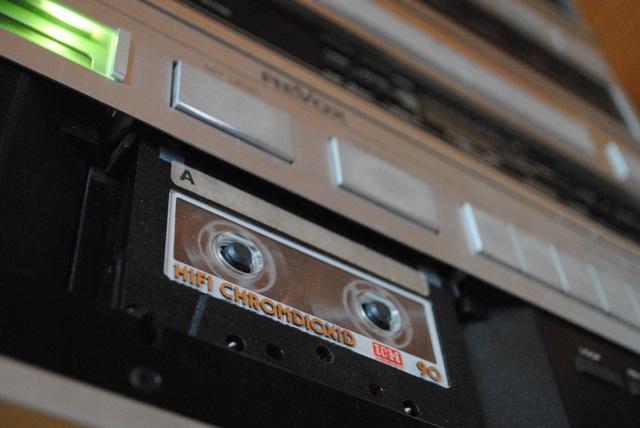 Revox B215 mit ICM-Kassette