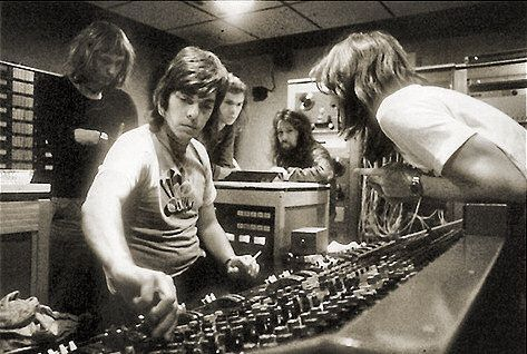 Alan Parsons And Pink Floyd Mixing Dark Side Of The Moon