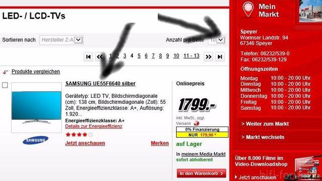 Samsung 55F6640