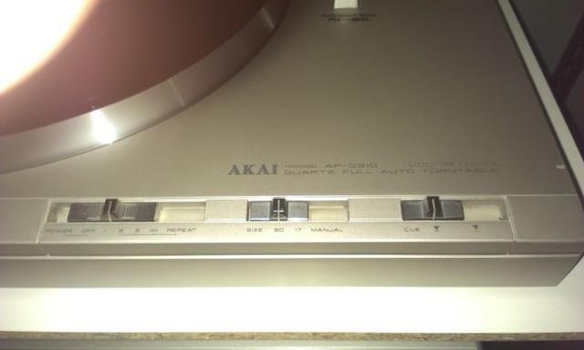 Montage und Betrieb eines Shure M97xE am Akai AP-Q310