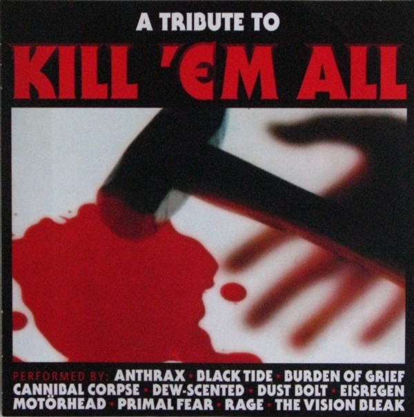 CD Cover (Various Artists   A Tribute To Kill \'em All)