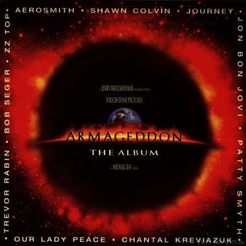 CD Cover (Various Artists   Armageddon   The Album)