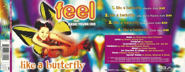 Feel Feat  Nashi Young Cho   Like A Butterfly