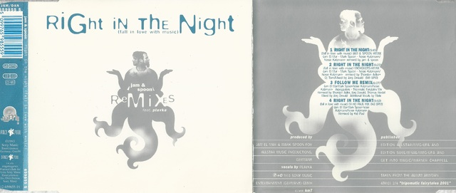 Jam & Spoon Feat  Plavka   Right In The Night (Fall In Love With Music) (Remixes)