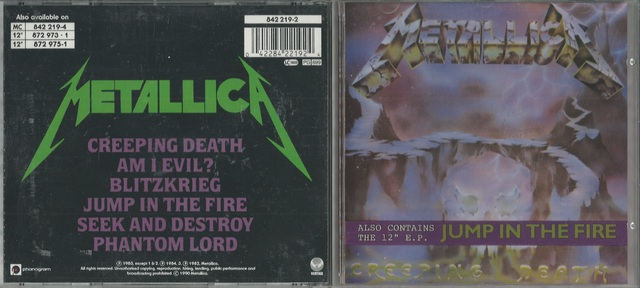 Metallica   Creeping Death (Also Contains The 12\'\' E P  Jump In The Fire)