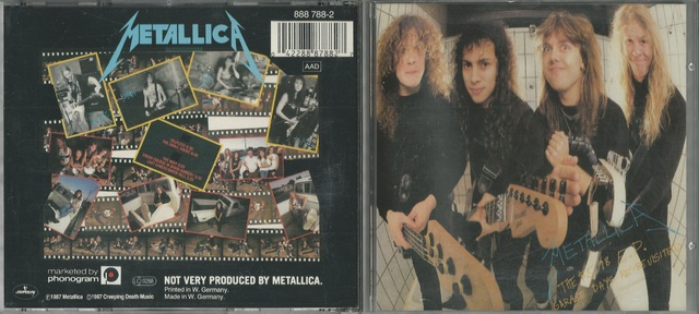Metallica   The $5 98 E P  Garage Days Re Revisited