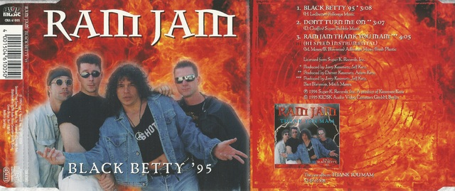 Ram Jam   Black Betty \'95