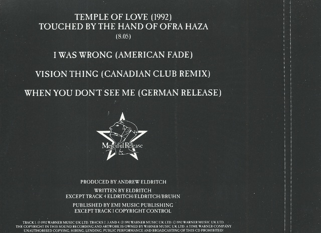 Übersetzung The Sisters of Mercy - Temple of Love …