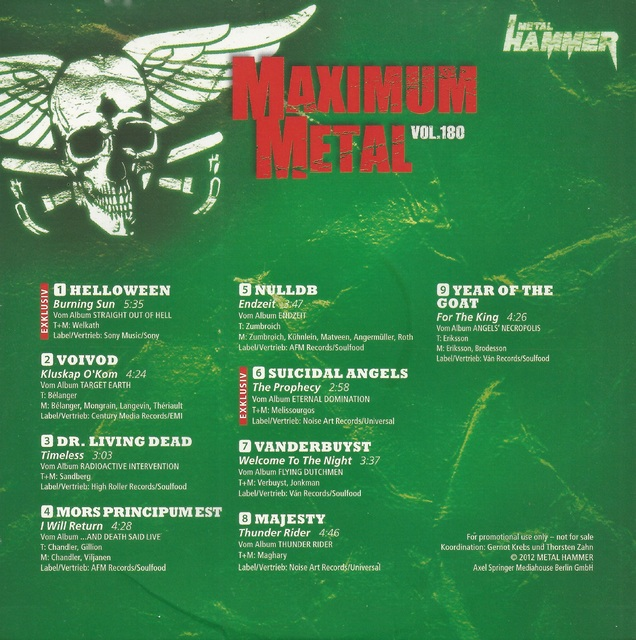 Various - Maximum Metal Vol. 213