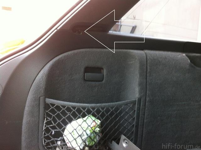 Audi A4 B7 Avant Kofferraumabdeckung Ausbauen Modifizierte Autogalerie
