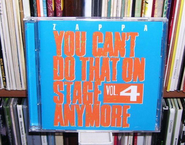 Frank Zappa YCDTOSA Vol4
