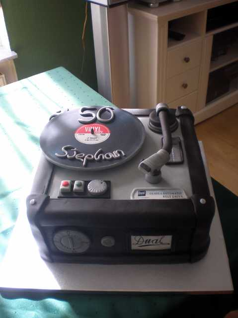 Geburtstagstorte de Luxe