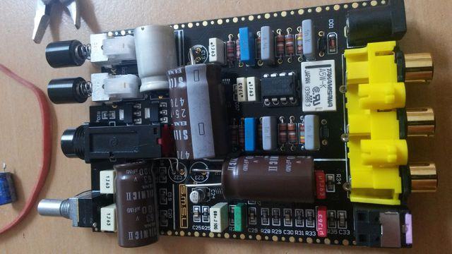 Mini DAC SD793II von SMSL gepimpt
